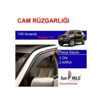 Demircioğlu Volkswagen Amarok Mugen Cam Rüzgarlığı 4Lü