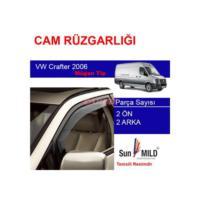 Demircioğlu Volkswagen Crafter Cam Rüzgarlığı 06 Mugen 4Lü