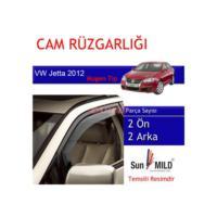 Demircioğlu Volkswagen Jetta Cam Rüzgarlığı 2012 Mugen 4Lü