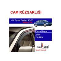 Demircioğlu Volkswagen Pasat Sedan Mugen Cam Rüzgarlığı 96-05 4Lü