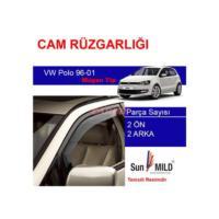 Demircioğlu Volkswagen Polo 96-01 Mugen Cam Rüzgarlığı 4Lü