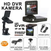 Vip HD DVR Taşınabilir Araç Kamerası 2.5'' TFT LCD + 8 GB Hafıza Kartı