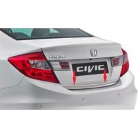 Civic Honda 2012 Bagaj Çıtası (Paslanmaz Çelik )