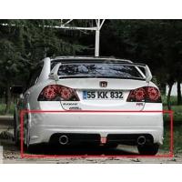 Civic Honda 2006 - 2011 Rr Arka Tampon Çift Egzos Çıkışlı - Boyasız