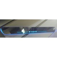 Civic Honda 2012 - Sonrası Hareketli Işıklı Led Kapı Eşiği / Mavi