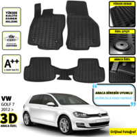Vw Golf 7 3D Oto Paspas Seti