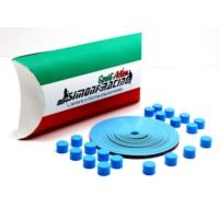 Simoni Racing Lega Protezioni 2 - Mavi Alaşım Jant Koruyucular Silikon SMN102951
