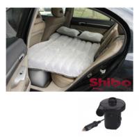 Shibo Şişme Araba Koltuğu Yatağı (Araç Pompası Hediyeli)