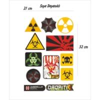 StickerMarket Danger Tehlike Sticker Seti