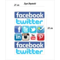 StickerMarket Sosyal Medya Sticker Seti