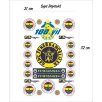 StickerMarket Fenerbahçe Sticker Seti