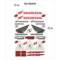 StickerMarket Honda Motosiklet Sticker Seti