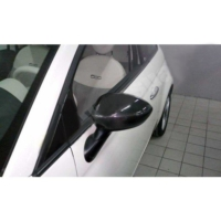 Omsa 2525111C Fiat 500 Karbon Ayna Kapağı Karbon Siyah- 2007 Sonrası 2 Parça (Sağ-Sol)
