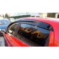 Omsa 6602CR001 Skoda Fabia 2005 Cam Rüzgarlığı Mugen Style ABS Plastik-Mugen Sport Stil Rüzgarlık 4 Parça