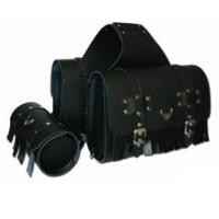 Prc Yan Çanta Takımı Ve Sosis Çanta Suni Deri 3 Lü Set Siyah Ve Kahverengi