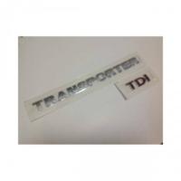 Oem Vw Transporter T6 Tdi Üç Kırmızı Bagaj Yazısı
