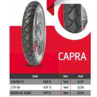 Anlas Capra Motosiklet Lastikleri 130/90-15