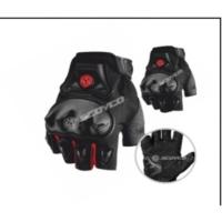 Prc Motosiklet Eldiven Full Korumalı Scoyco Mc29 Parmaksız Avuç İçi Ekstra Plastik Koruma 1. Kalite