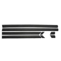Ptn Vw Golf 3 Yan Kapı Çıtası Kapı Bandı Set 4Kapı Siyah