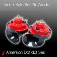 U&C Amerikan Tip Da-Dat Sesli İnce/Kalın Korna Set 90B025