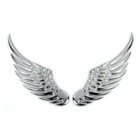 Tvet Arma Metal 3D Kartal Kanatları Silver 14 50 Cmx2