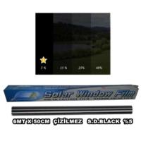 Tvet Cam Filmi 6Mt X 50Cm Çizilmez S D Black