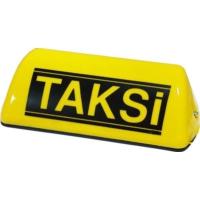 Tvet Mıknatıslı Taksi Levhası Sarı