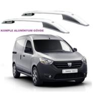 Tvet Dacia Dokker 2013 Üst Çıta Alüminyum Komple