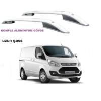 Tvet Ford Custom 2012 Uzun Sase Üst Çıta Alüminyum Komple