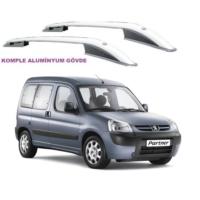 Tvet Peugeot Partner Berlingo 1998 2008 Üst Çıta Alüminyum