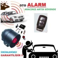 Tvet Oto Alarmı Komple Set 12V Kumanda Modeli