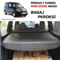 Tvet Renault Kango 1998 2008 Çekmeli Bagaj Perdesi Siyah Lüx
