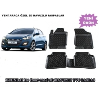 Tvet Hyundai I30 2007 2012 3D Havuzlu Pvc Paspas
