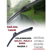 Tvet Vw Golf 4 Polo 4 Bora Mazda 3 Orjinal Silecek 480 530 Mm