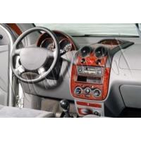 Tvet Chevrolet Kalos 2002 6 Parça Torpido Kaplaması Karbon