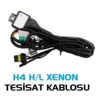 Tvet Xenon H4 Tesisat Kablosu