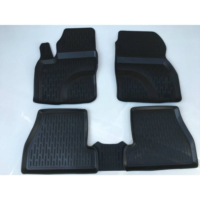 Perflex Bmw E90 3 Serisi Paspas 3D Havuzlu Siyah