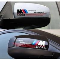 TSC BMW Ayna İçin Sticker Yapıştırması