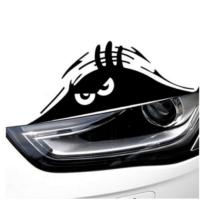 TSC Sert Bakan Göz Araba İçin Yapıştırma Sticker
