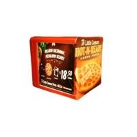 Prc Pizza Çantası Tmp03 Krmz /3 Tepsili /5Ad Rklm Alanı, En 43Cm Boy 43 Cm Yükseklik 43Cm