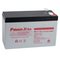 Power-Xtra 12V 7 Ah F1 Pin (İnce) Bakımsız Kuru Akü