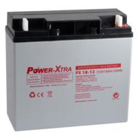 Power-Xtra 12V 18 Ah Bakımsız Kuru Akü