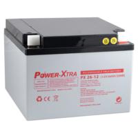 Power-Xtra 12V 26 Ah Bakımsız Kuru Akü