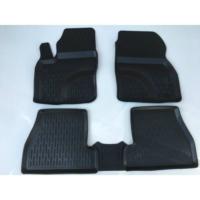 Perflex Ford Focus 2 Paspas 3D Havuzlu Siyah 2005-2011 Arası Uyumlu