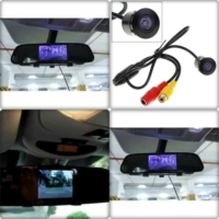 Camera Ekranlı Ayna Geri Vites Gece Görüşlü Kameralı Aynalı Kamera