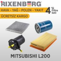 Rixenberg Filters Mitsubishil L200 4'Lü Filtre Seti