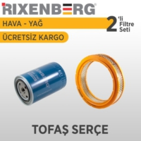 Rixenberg Filters Tofaş Serçe 2'Li Filtre Seti
