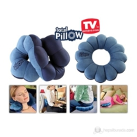 Cix Pillow Mikro Boncuklu Yumuşak Yastık Simit Total Pillow""