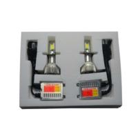 Set LED Xenon Far H4 Headlight 3800 Lumen 36w