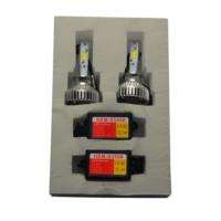 Set LED Xenon Far H1 Headlight 3800 Lumen 36W